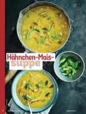 Rezept - Hähnchen-Mais-Suppe - Simply Kochen Sonderheft - Suppen und Eintöpfe - 01/2019