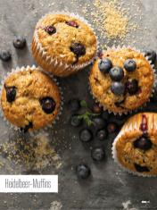 Rezept - Heidelbeer-Muffins - Bewusst Low Carb