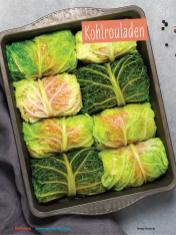 Rezept - Kohlrouladen - Simply Kochen Sonderheft - Ernährung in der Schwangerschaft - mit Nina Kämpf von Mamaaempf