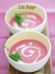 Rezept - Lila Suppe - Bewusst Low Carb Sonderheft Keto