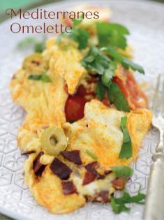 Rezept - Mediterranes Omelette - Bewusst Low Carb Sonderheft Keto