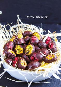 Rezept - Mini Ostereier - Healthy Vegan 03/2019