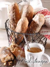 Rezept - Müslistangen - Simply Backen Sonderheft – Brote und Brötchen mit dem Thermomix® 02/2019