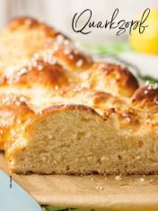 Rezept - Quarkzopf - Simply Backen Sonderheft – Brote und Brötchen mit dem Thermomix® 02/2019