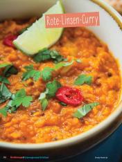 Rezept - Rote-Linsen-Curry - Simply Kochen Sonderheft - Ernährung in der Schwangerschaft - mit Nina Kämpf von Mamaaempf