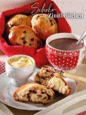 Rezept - Schoko-Zimtbrötchen - Simply Backen Sonderheft – Brote und Brötchen mit dem Thermomix® 02/2019