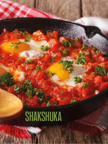 Rezept - Shakshuka - Bewusst Low Carb
