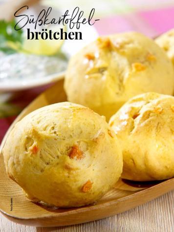 Rezept - Süßkartoffel-Brötchen - Simply Backen Sonderheft – Brote und Brötchen mit dem Thermomix® 02/2019