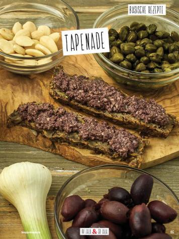 Rezept - Tapenade - Simply Kochen Sonderheft Basenfasten mit Andrea Sokol