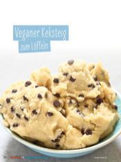 Rezept - Veganer Keksteig zum Löffeln - Simply Kochen Sonderheft - Ernährung in der Schwangerschaft - mit Nina Kämpf von Mamaaempf