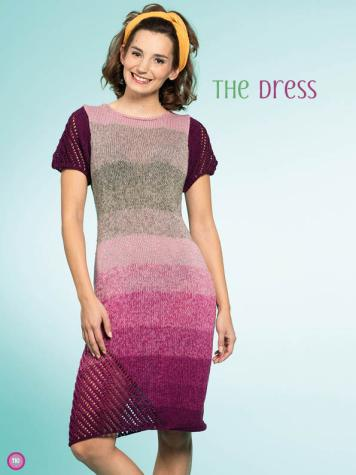 Strickanleitung - The Dress - Simply Kreativ – Stricken mit Verlaufs-Bobbeln 02/2019