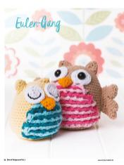 Häkelanleitung - Eulen-Gang - Best of Simply Häkeln Amigurumi Vol. 3