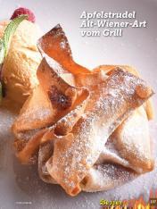 Rezept - Apfelstrudel Alt-Wiener-Art vom Grill - Simply Kochen Sonderheft Besser Grillen mit den Grillweltmeisten