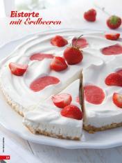 Rezept - Eistorte mit Erdbeeren - Simply Backen Sonderheft Kühlschranktorten ohne Backen