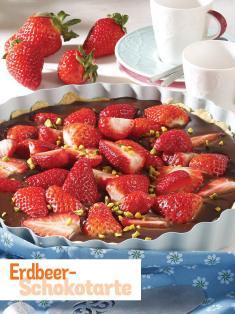 Rezept - Erdbeer-Schokotarte - Simply Kochen Sonderheft So schmeckt der Frühling