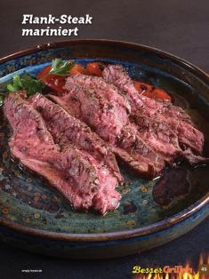 Rezept - Flank-Steak mariniert - Simply Kochen Sonderheft Besser Grillen mit den Grillweltmeisten
