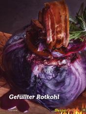 Rezept - Gefüllter Rotkohl - Simply Kochen Sonderheft Besser Grillen mit den Grillweltmeisten