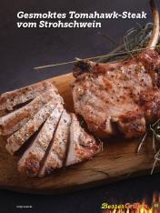 Rezept - Gesmoktes Tomahawk-Steak vom Strohschwein - Simply Kochen Sonderheft Besser Grillen mit den Grillweltmeisten