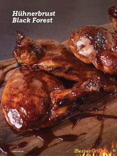 Rezept - Hühnerbrust Black-Forest - Simply Kochen Sonderheft Besser Grillen mit den Grillweltmeisten