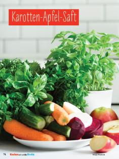 Rezept - Karotten-Apfel-Saft - Simply Kochen mit und für Kinder - mit Nina Kämpf von Mamaaempf