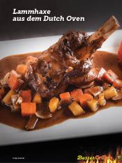 Rezept - Lammhaxe aus dem Dutch-Oven - Simply Kochen Sonderheft Besser Grillen mit den Grillweltmeisten