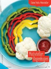 Rezept - Motivteller Regenbogen - Simply Kochen mit und für Kinder - mit Nina Kämpf von Mamaaempf
