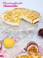 Rezept - Passionsfrucht-Cheesecake - Simply Backen Sonderheft Kühlschranktorten ohne Backen