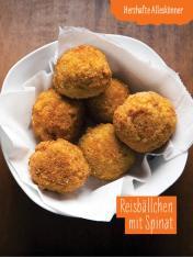 Rezept - Reisbällchen mit Spinat - Simply Kochen mit und für Kinder - mit Nina Kämpf von Mamaaempf