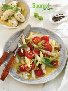 Rezept - Spargel-Salat mit Tomaten - Simply Kochen Special Spargel