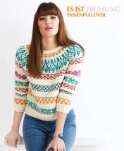Strickanleitung - Es ist Frühling - Passenpullover - Designer Knitting - 03/2019