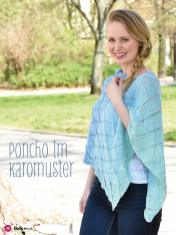 Strickanleitung - Poncho im Karomuster - Simply Kreativ Sonderheft Best of CraSy Sylvie