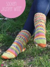 Strickanleitung - Socken Kurzer Willi - Simply Kreativ Sonderheft Best of CraSy Sylvie
