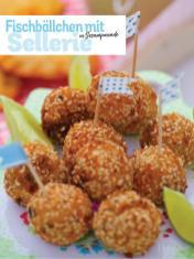 Rezept - Fischbällchen mit Sellerie in Sesampanade - Simply Kochen Picknick - 03/2019