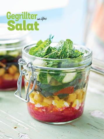 Rezept - Gegrillter Salat im Glas - Simply Kochen Picknick - 03/2019