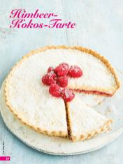 Rezept - Himbeer-Kokos-Tarte - Simply Backen 03/2019