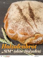 """Rezept - Holzofenbrot - """"SIM"""" ohne Holzofen - Brote Backen mit Tommy Weinz - 02/2019"""