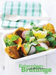 Rezept - Kichererbsen-Bratlinge mit Karotten und Rosinen - Simply Kochen Sonderheft Salate to go