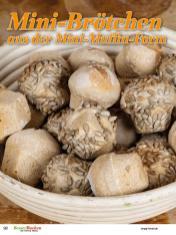Rezept - Mini-Brötchen aus der Mini-Muffin-Form - Brote Backen mit Tommy Weinz - 02/2019