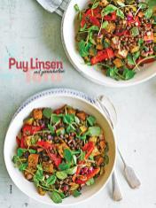 Rezept - Puy-Linsen mit geräuchertem Tofu - Simply Kochen Sonderheft Salate to go