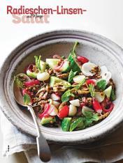 Rezept - Radieschen-Linsen-Salat mit Minze - Simply Kochen Sonderheft Salate to go