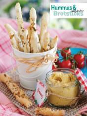 Rezept - Selbstgebackene Hummus und Brotsticks - Simply Kochen Picknick - 03/2019