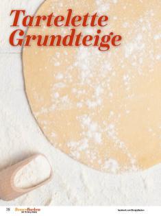 Rezept - Tartelette-Grundteige - Simply Backen Sonderheft Besser Backen mit Tommy Weinz