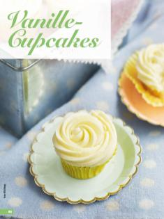 Rezept - Vanille-Cupcakes - Simply Backen 03/2019