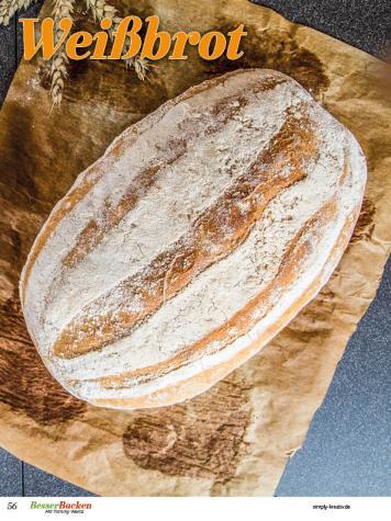 Rezept - Weißbrot - Brote Backen mit Tommy Weinz - 02/2019