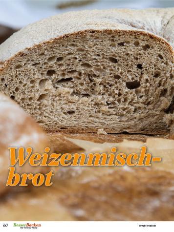 Rezept - Weizenmischbrot - Brote Backen mit Tommy Weinz - 02/2019