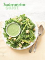 Rezept - Zuckerschoten-Salat - Simply Kochen Sonderheft Salate to go