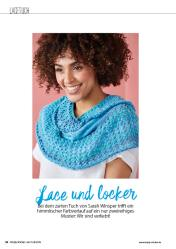 Strickanleitung - Lace und locker - Simply Stricken - 04/2019