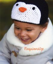 Häkelanleitung - Pinguinmütze - Mini Häkeln Mützen und Stirnbänder Vol. 10