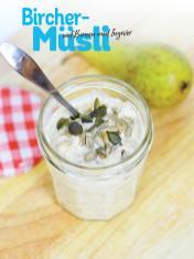 Rezept - Bircher-Müsli mit Birnen und Ingwer - Simply Kochen Sonderheft Frühstücksrezepte