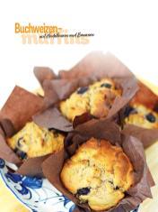 Rezept - Buchweizen-Muffins mit Heidelbeeren und Bananen - Simply Kochen Sonderheft Frühstücksrezepte
